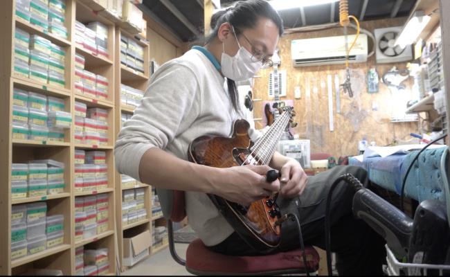 Sagoで楽器が出来るまで、セットアップ編(Sago・ベース)